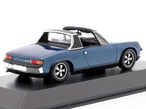 Porsche 914/6 year 1973 blue metallic