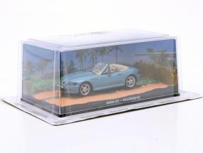 BMW Z3 James Bond Movie Car Goldeneye light blue metallic 1:43 Ixo