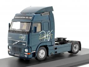 Volvo FH 12 Truck year 1994 dark blue metallic 1:43 Ixo
