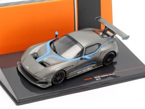 Aston Martin Vulcan year 2015 mat grey metallic 1:43 Ixo