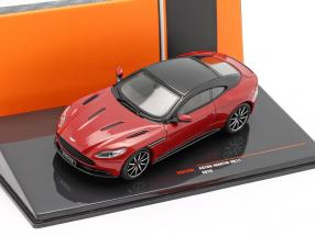 Aston Martin DB11 year 2016 red metallic / black