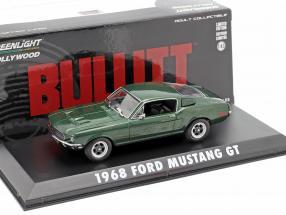 Ford Mustang GT Steve McQueen out the Movie Bullitt 1968 green metallic 1:43 Greenlight