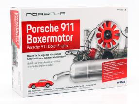 Porsche 911 6-cylinder Boxer engine year 1966 Kit 1:4 Franzis
