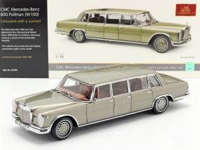Mercedes-Benz Pullman (W 100) Limousine with sunroof mink grey 1:18 CMC