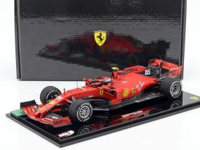 Charles Leclerc Ferrari SF90 #16 Winner Italy GP F1 2019 with showcase 1:18 BBR