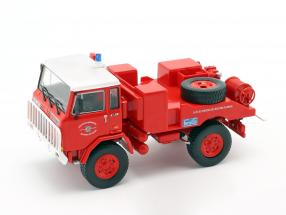 Iveco-Unic 75 PC fire Department France red / white 1:43 Atlas