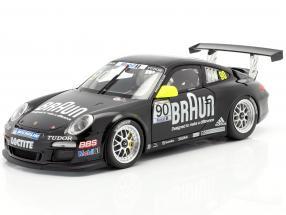 Porsche 911 GT3 Cup VIP #90 Braun Porsche Supercup 2010 1:18 Minichamps