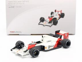 Alain Prost McLaren MP4/5 #2 World Champion monaco GP formula 1 1989 1:18 TrueScale