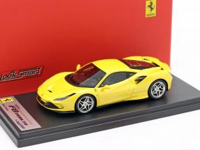 Ferrari F8 Tributo year 2019 yellow metallic 1:43 LookSmart
