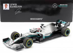 L. Hamilton Mercedes-AMG F1 W10 #44 World Champion China GP F1 2019 1:18 Minichamps