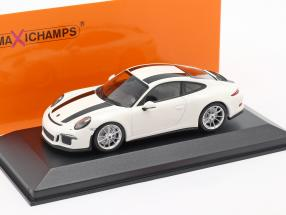 Porsche 911 R year 2016 white / black 1:43 Minichamps