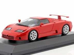 Bugatti EB 110 year 1994 red 1:43 Minichamps