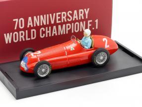 G. Farina Alfa Romeo 158 #2 World Champion Great Britain GP F1 1950 1:43 Brumm