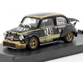 Fiat Abarth 1000 #248 Trento Bondone 1976 Chiavacci 1:43 Brumm
