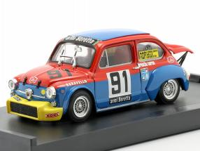 Fiat Abarth 1000 #91 Coppa Carri Monza 1973 Arnighini 1:43 Brumm