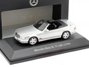 Mercedes-Benz SL 73 AMG year 1999 silver 1:43 Spark