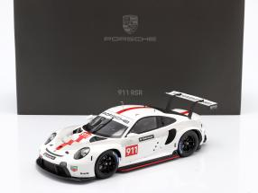 Porsche 911 (992) RSR WEC 2019 Presentation version 1:18 Spark