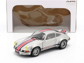 Porsche 911 RSR year 1973 silver gray metallic 1:18 Solido
