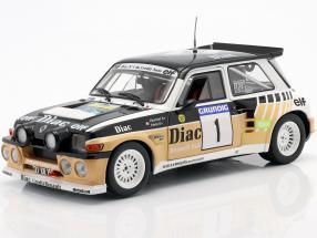 Renault Maxi 5 Turbo #1 Winner Rally du Var 1986 Chatriot, Perin 1:18 Solido