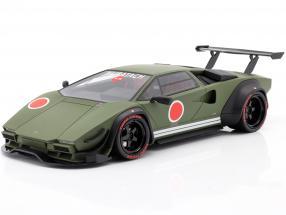 Lamborghini Khyzyl Saleem Huratach year 2020 mat green 1:18 GT-SPIRIT