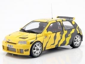 Renault Clio Maxi Presentation Car 1995 black / yellow 1:18 OttOmobile