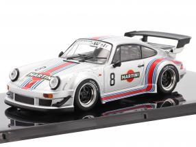 Porsche 911 (930) RWB #8 Rauh-Welt Martini silver 1:43 Ixo