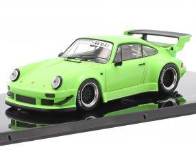 Porsche 911 (930) RWB Rauh-Welt light green 1:43 Ixo