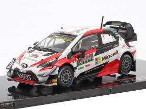 Toyota Yaris WRC #7 Winner Rally Australia 2018 Latvala, Anttila 1:43 Ixo