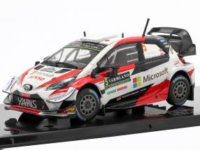 Toyota Yaris WRC #5 Rally Sweden 2019 Meeke, Marshall 1:43 Ixo