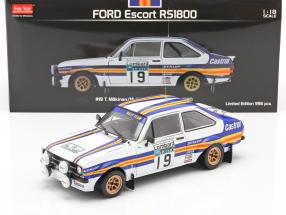 Ford Escort RS1800 #19 RAC Rally 1980 Mäkinen, Homes 1:18 Sun star