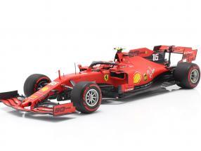 C. Leclerc Ferrari SF90 #16 Winner Belgium GP F1 2019 Pole Position 1:18 BBR