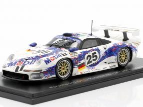 Porsche 911 GT1 #25 2nd 24h LeMans 1996 Stuck, Boutsen, Wollek 1:43 Spark