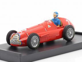Juan Manuel Fangio Alfa Romeo 159 #2 World Champion Belgium GP F1 1951 1:43 Brumm