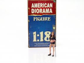 Paddock Girl figure 1:18 American Diorama
