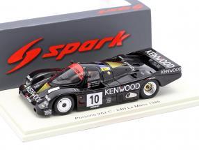 Porsche 962C #10 24h LeMans 1986 Gartner, van der Merwe, Takahashi 1:43 Spark