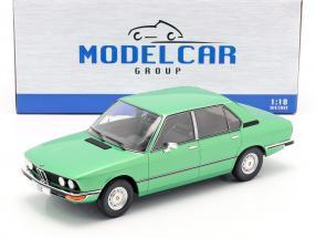 BMW 518 (E12) year 1974 light green metallic 1:18 Model Car Group