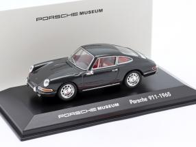 Porsche 911 (original model) 1965 gray 1:43 Welly