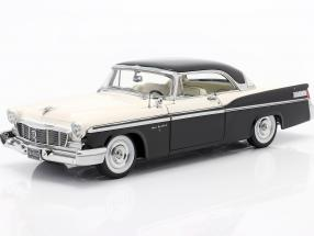 Chrysler St. Regis year 1956 cloud white / raven black 1:18 GMP