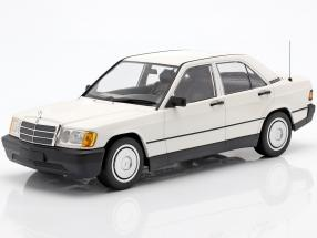 Mercedes-Benz 190E (201) year 1982 white 1:18 Minichamps