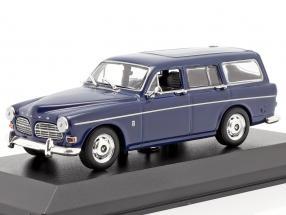 Volvo 121 Amazon Break year 1966 dark blue 1:43 Minichamps