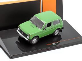 Lada Niva year 1978 green 1:43 Ixo