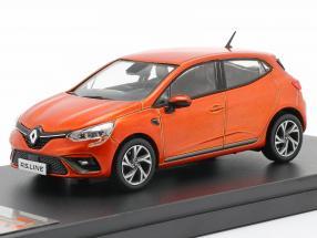 Renault Clio RS Line year 2019 orange metallic 1:43 Premium X
