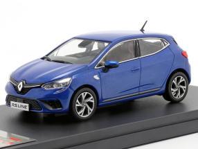 Renault Clio RS Line year 2019 blue metallic 1:43 Premium X