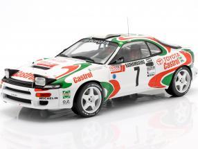 Toyota Celica Turbo 4WD #7 5th Rallye Monte Carlo 1993 Kankkunen, Piironen 1:18 Ixo