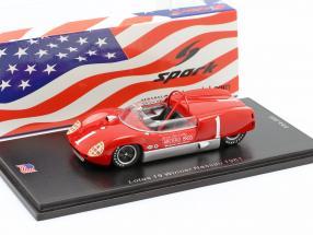 Lotus 19 #1 Winner Nassau Trophy Race 1961 Dan Gurney 1:43 Spark