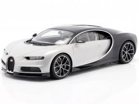 Bugatti Chiron year 2017 glacier white / atlantic blue 1:12 AUTOart