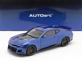 Chevrolet Camaro ZL1 year 2017 hyper blue metallic 1:18 AUTOart