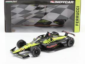 Santino Ferrucci Honda #18 Indycar Series 2020 Dale Coyne Racing 1:18 Greenlight