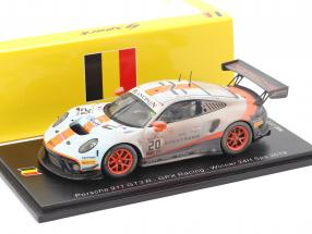 Porsche 911 GT3 R #20 winner 24h Spa 2019 Finish Line Dirty Version 1:43 Spark
