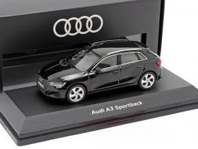 Audi A3 Sportback year 2020 myth black 1:43 Audi